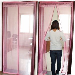 прозрачная штора