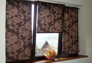 окна рулонные шторы