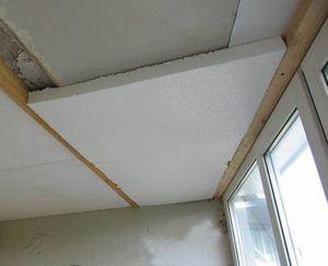 пенопласт потолок
