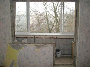 демонтаж балконного проема