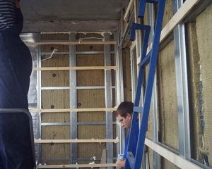 отделка балкон
