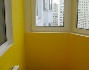 калькулятор расхода краски для балкона или лоджии